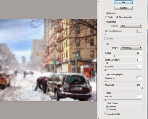 Create a Soft Focus Effect In Photoshop