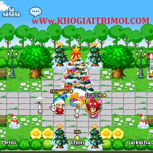 Sự kiện Giáng Sinh game Avatar 2015