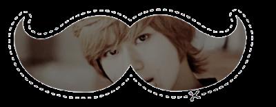 Acessórios: 15 Moustaches Personalizados - Lee Taemin
