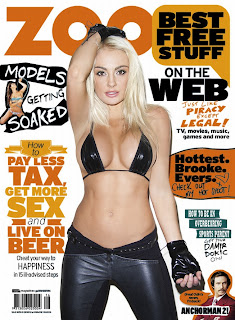Brooke Evers Photoshoot, Zoo Magazine Photoshoot