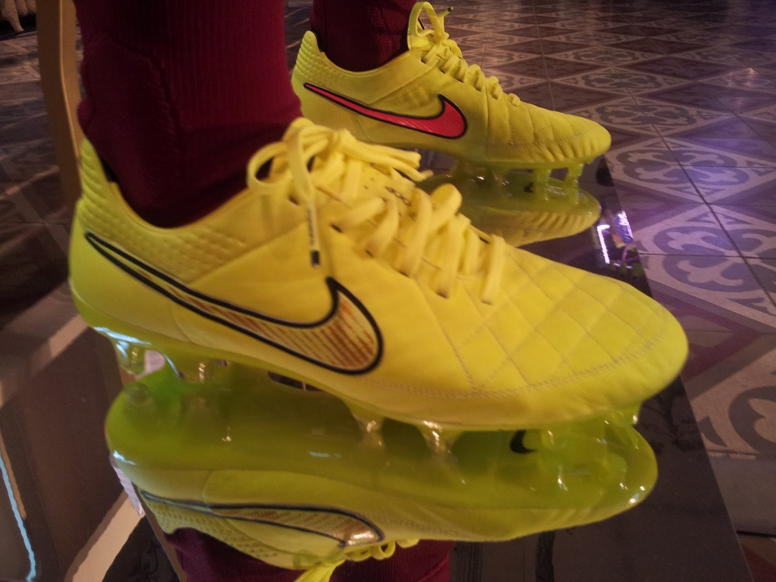 This is the new Nike Tiempo Legend V 2014 World Cup Football boot    Nike Tiempo 2014