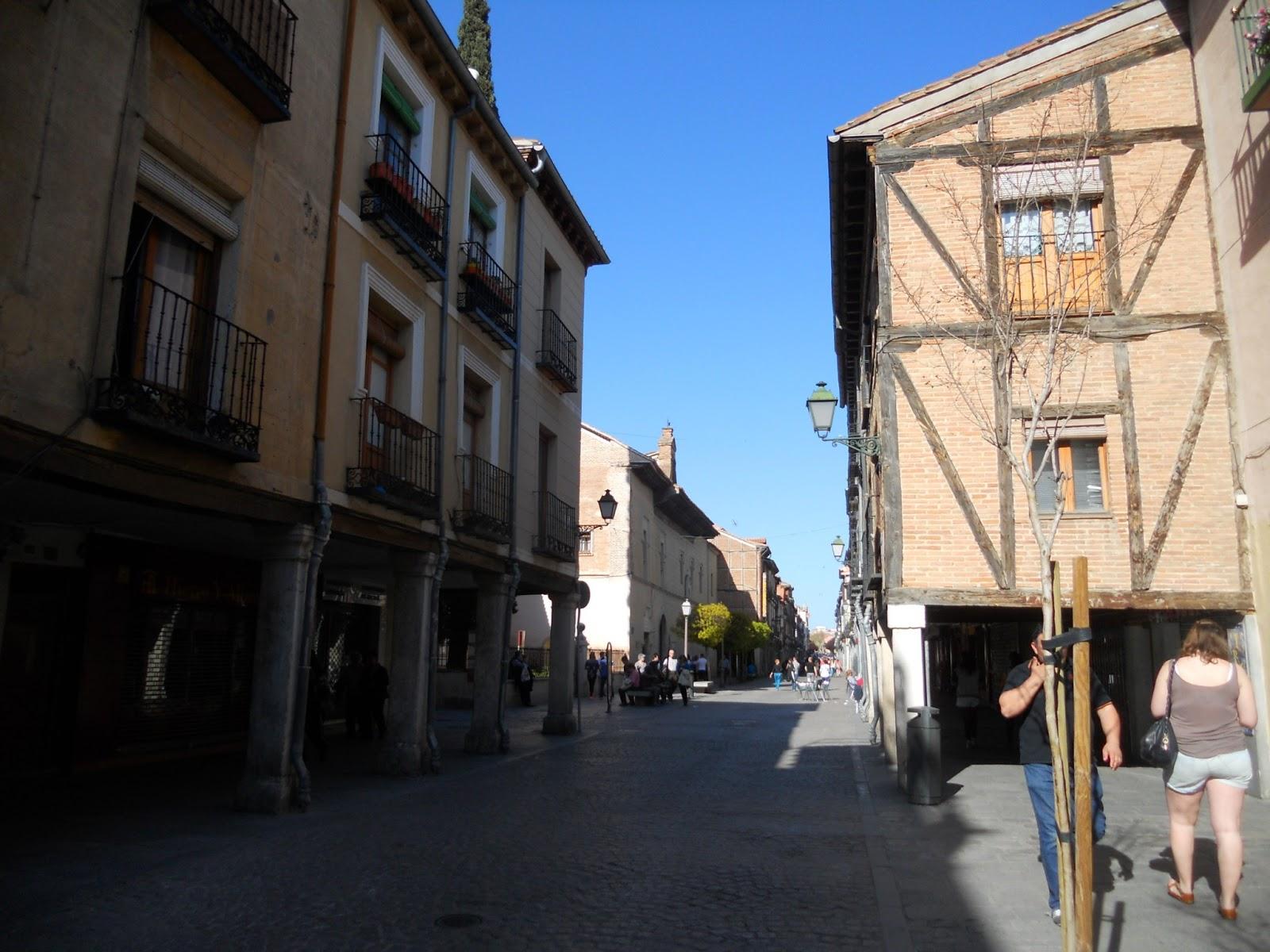 Calle camino de santiago alcala de henares