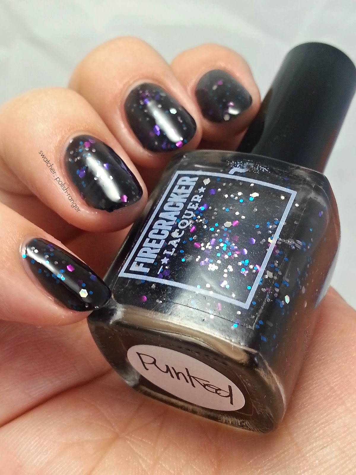 Firecracker Lacquer Punked swatch