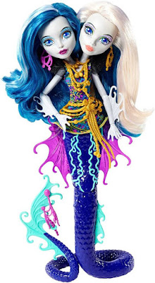 TOYS : JUGUETES - MONSTER HIGH : Great Scarrier Reef Peri & Pearl Serpentine | Muñeca - Doll  Producto Oficial 2015 | Mattel | A partir de 6 años Comprar en Amazon España & buy Amazon USA