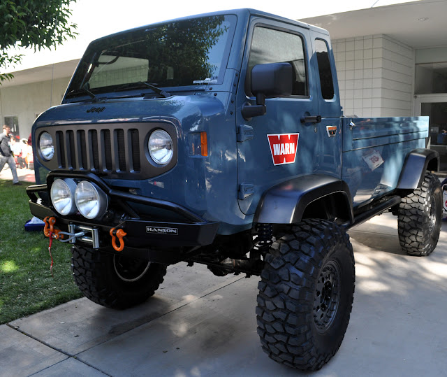 The Jeep We Purchased: Just A Car Guy: Warn Winches Brought A Forward Control