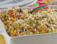 Arroz Nutritivo com Cenoura e Abobrinha (vegana)