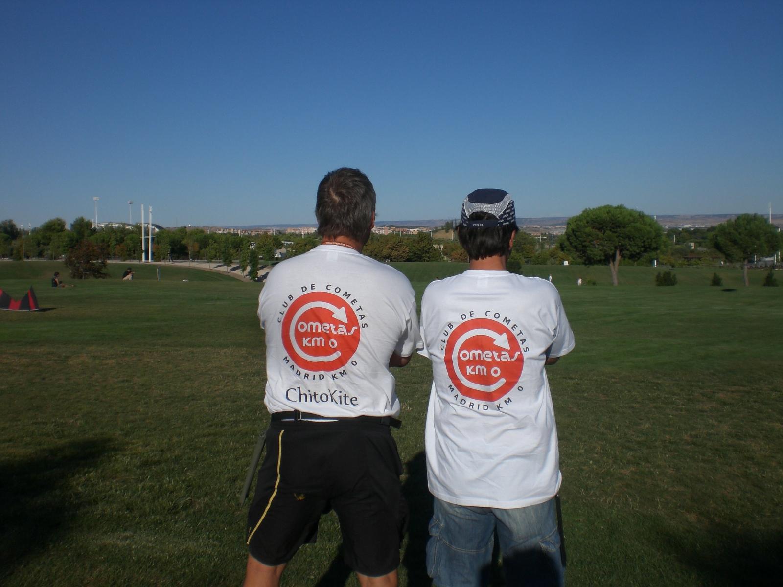 club de cometas madrid km 0 agosto 2011