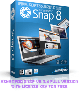 Ashampoo Snap v8.0.4 Full Version With License Key For Free