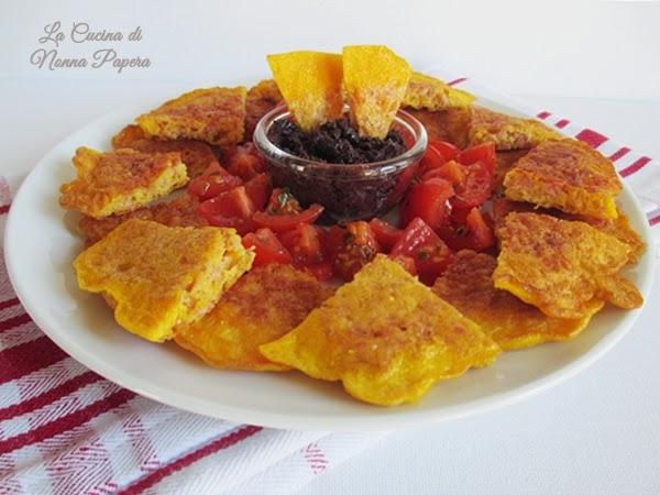 frittata di mortadella e parmigiano