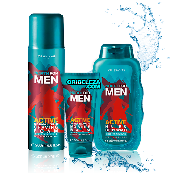 North For Men Active da Oriflame