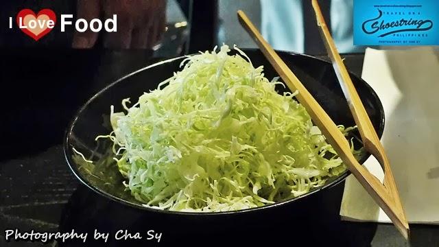 Kurogoma, Black Sesame Seeds, Cabbage, sliced cabbage