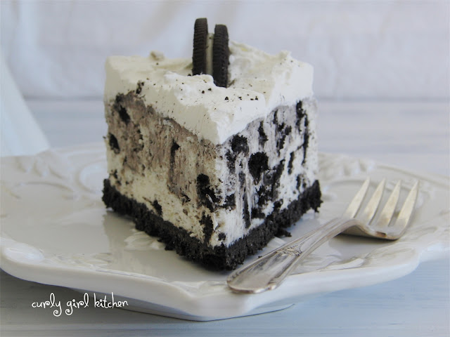 Cookies and Cream Icebox Cheesecake