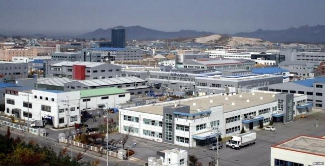 Parque Industrial Intercoreano de Kaesong en Corea del Norte