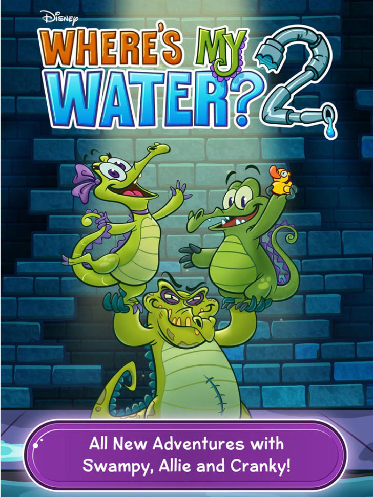 Where's My Water? 2 App iTunes App By Disney - FreeApps.ws