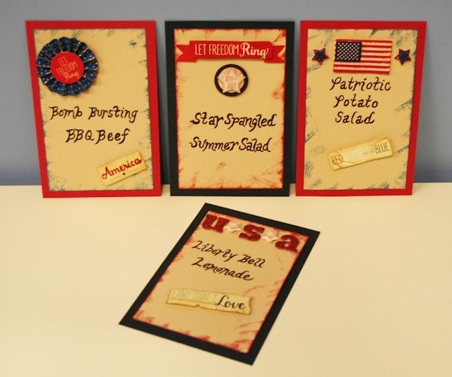 oh my crafts blog patriotic food labels