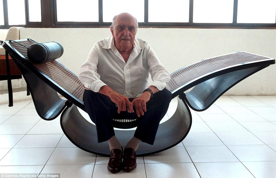 the north elevation icons oscar niemeyer in his copacabana studio. Black Bedroom Furniture Sets. Home Design Ideas