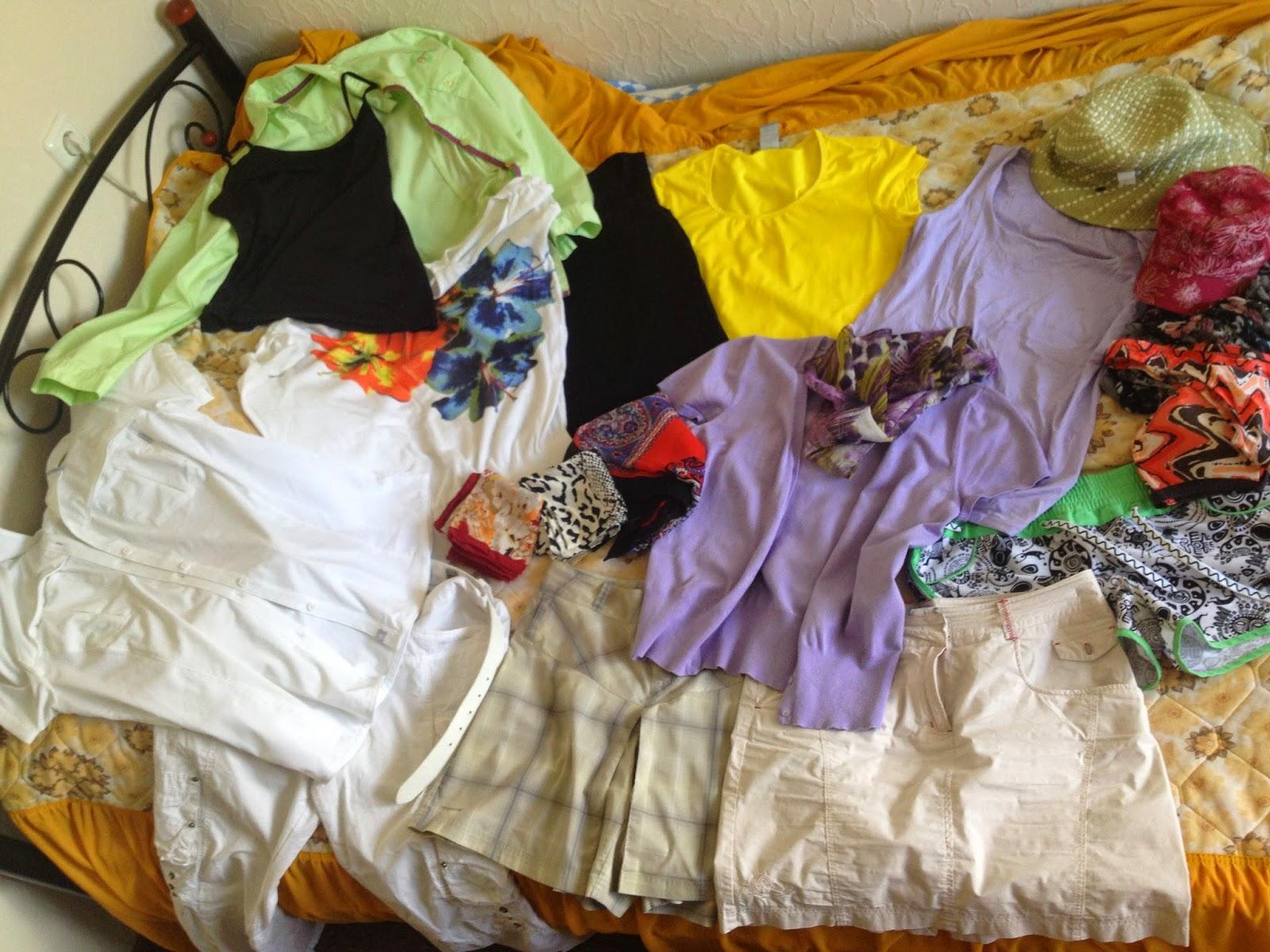 одежда для отпуска на море