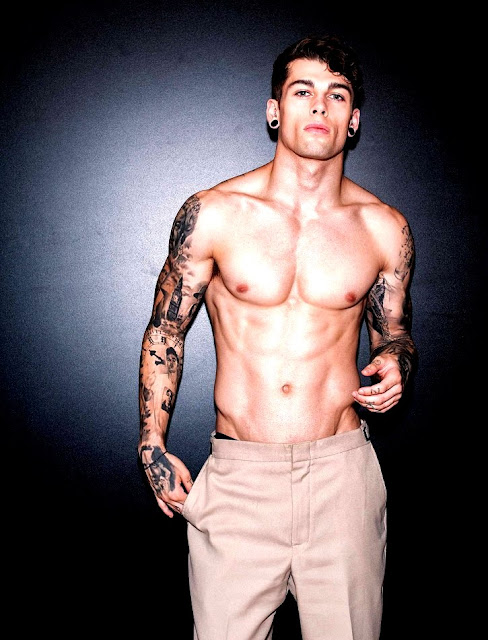 Male Models Tattoos
