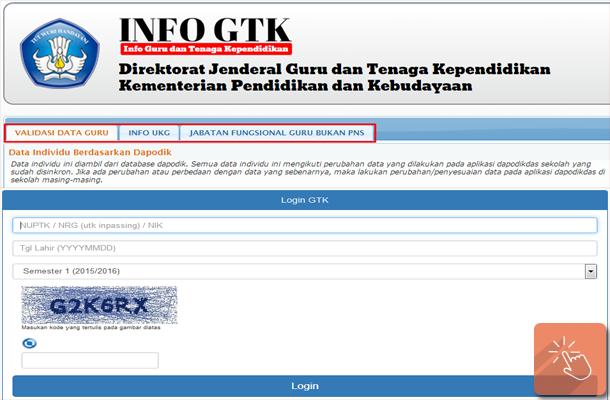 Info GTK Info Guru dan Tenaga Kependidikan Cek Tunjangan Guru