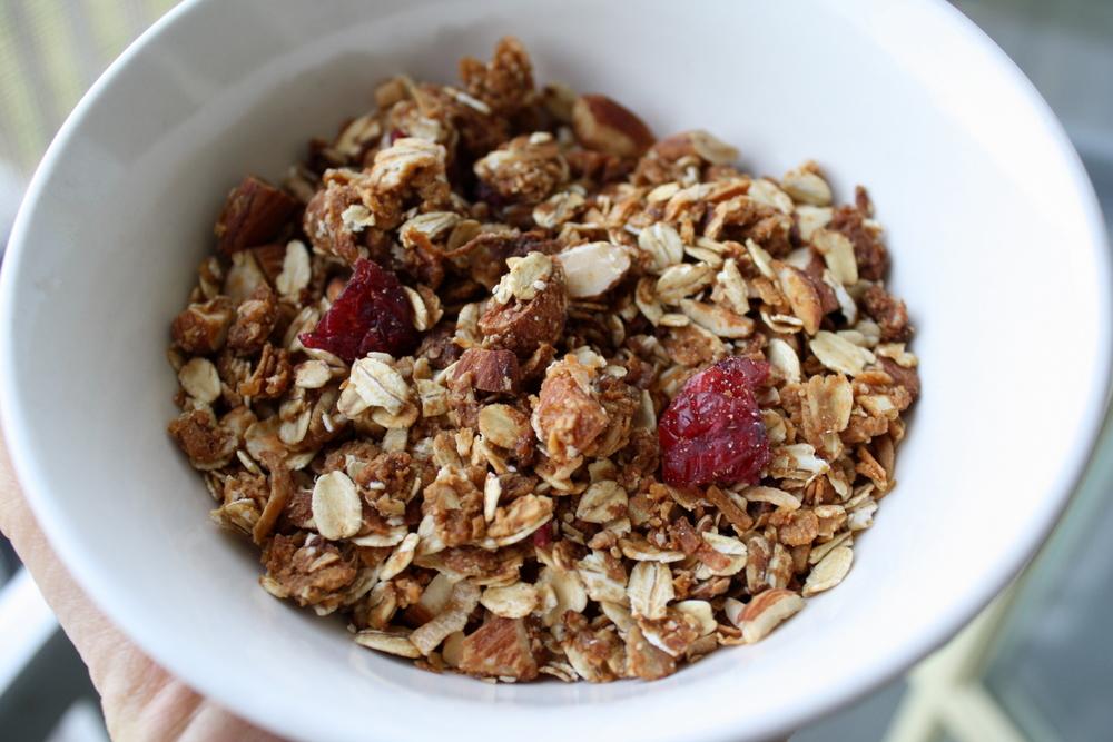 Jennifer Murch: peanut butter and honey granola
