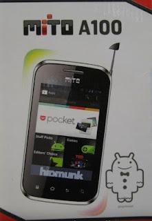 Mito A100,Spesifikasi, Harga, Hp Android Dual SIM, Murah, 500 ribuan