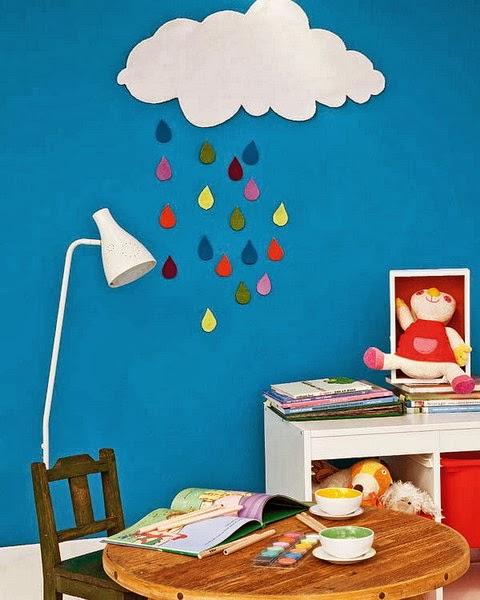 D co fait main id e d co pour la chambre d 39 enfant for Idee deco chambre bebe fait main