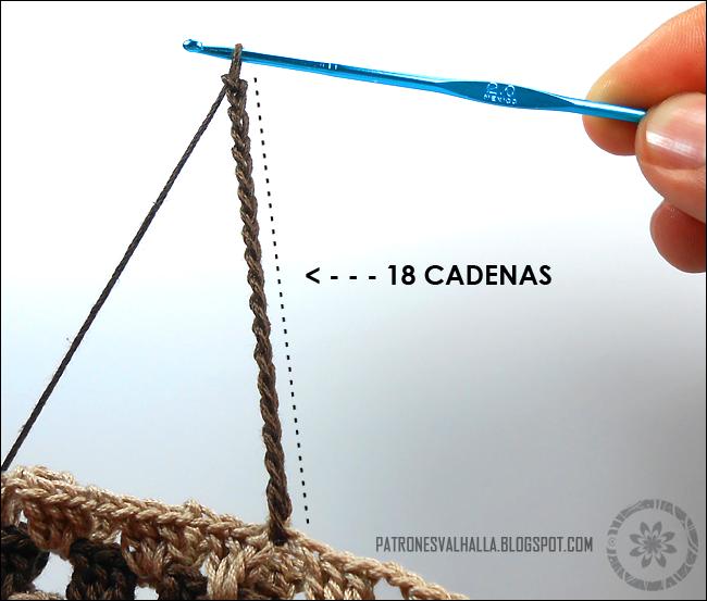 Mitones con pulgar a Crochet (foto-tutorial) - PATRONES VALHALLA ...
