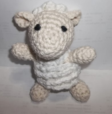Free Sheep Amigurumi Crochet Pattern : Sheep of Delight: Sweet Sheep: Free amigurumi crochet pattern