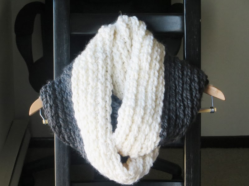 Crochet Patterns Chunky Yarn : Crochet Dreamz: Chunky Infinity Scarf Crochet Pattern, Knit Look ...