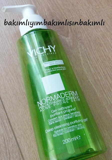 deep cleansing purifying gel vichy