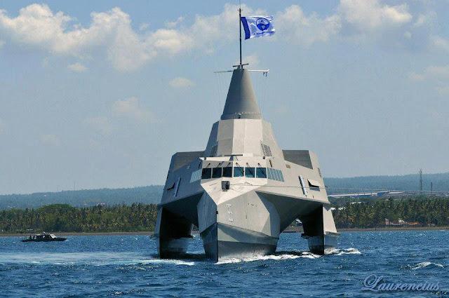 KRI-Klewang-Kapal-Perang-Siluman-TNI_1