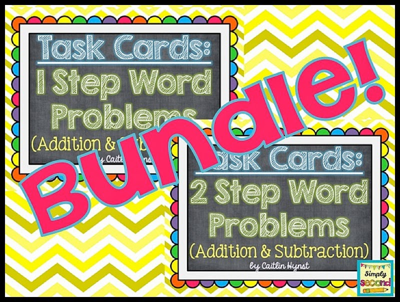 http://www.teacherspayteachers.com/Product/TASK-CARDS-Word-Problem-Bundle-1-2-Step-728476