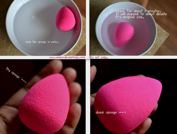 Beauty Blender sponge makeup applicator sephora technique use airbrush blog