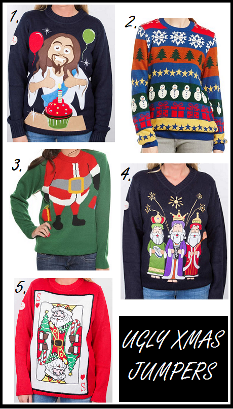 Ugly Christmas Jumpers 2014