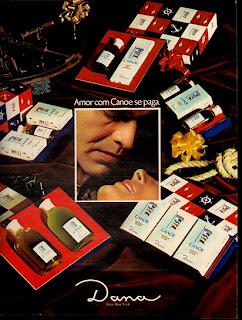 propaganda Dana - 1972. anos 70; 1972; moda anos 70; propaganda anos 70; história da década de 70; reclames anos 70; brazil in the 70s; Oswaldo Hernandez