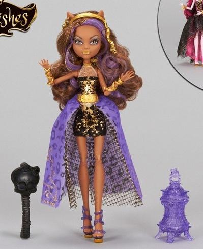 Barbie familia y amigos monster high color me creepy - 13 souhait monster high ...