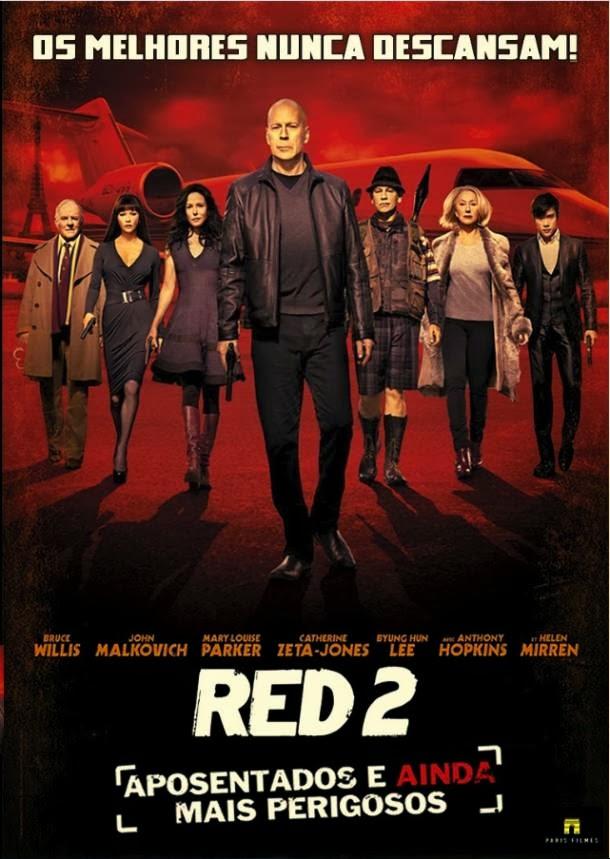 capa Red 2 – Aposentados e Ainda Mais Perigosos R6 AVI Dual Áudio + RMVB Dublado