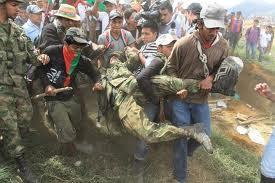 Guerra en el Cauca. Julio de 2012