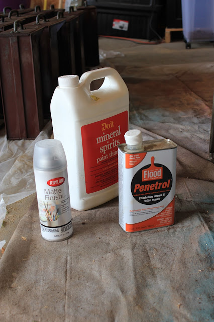 Directions for cleaning up rusty furniture pieces. See how I cleaned up this cabinet and protected it from flaking rust in my home and prevented it from further rusting. www.homestead128.com