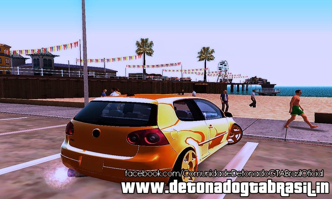 GTA SA - Volkswagen Golf V GTI
