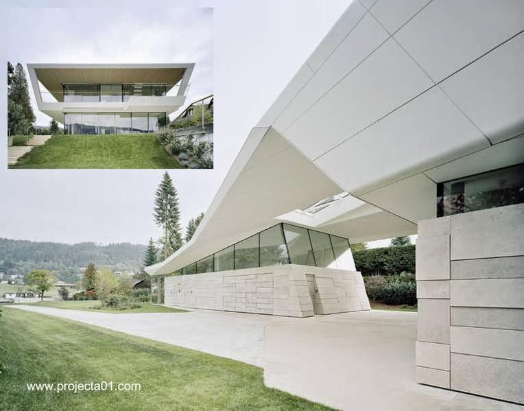 Residencia de verano ultramoderna en Carinthia, Austria 2013