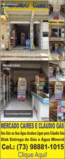 Mercado Caires e Cláudio Gás e Água