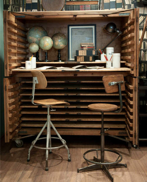 Great Vintage Desk - Great Vintage Desk Content In A Cottage