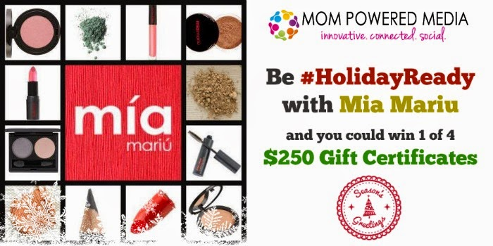 Enter the Mia Mariu Holiday Ready Giveaway. Ends 1/13