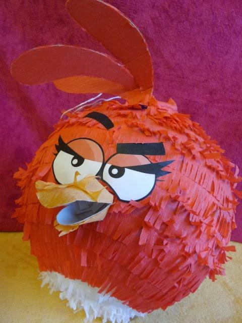 20. Piniata Czerwony Angry Birds