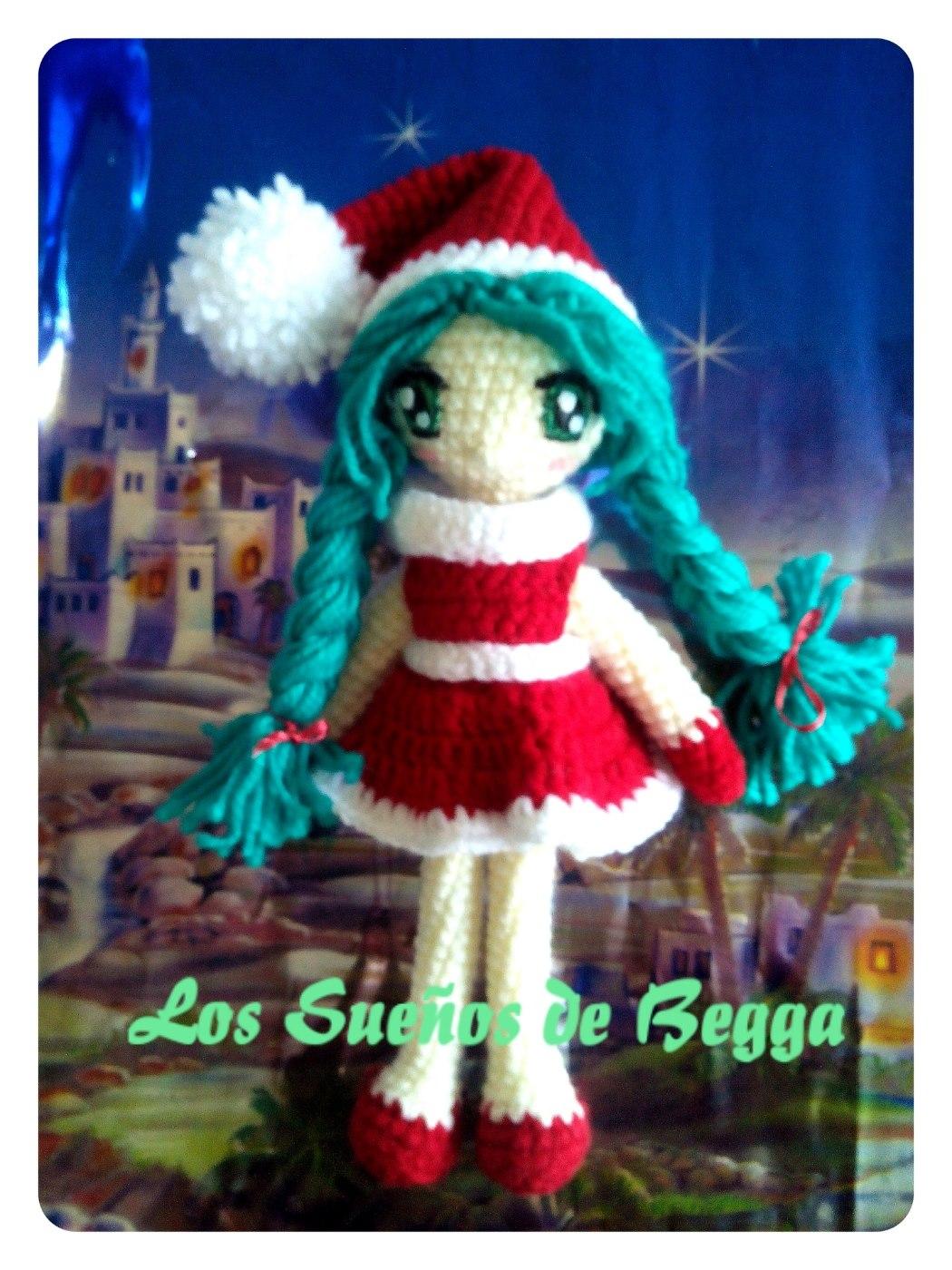 Amigurumis Navidad 2015 : Los sue�os de begga especial navidad i una elfa muy