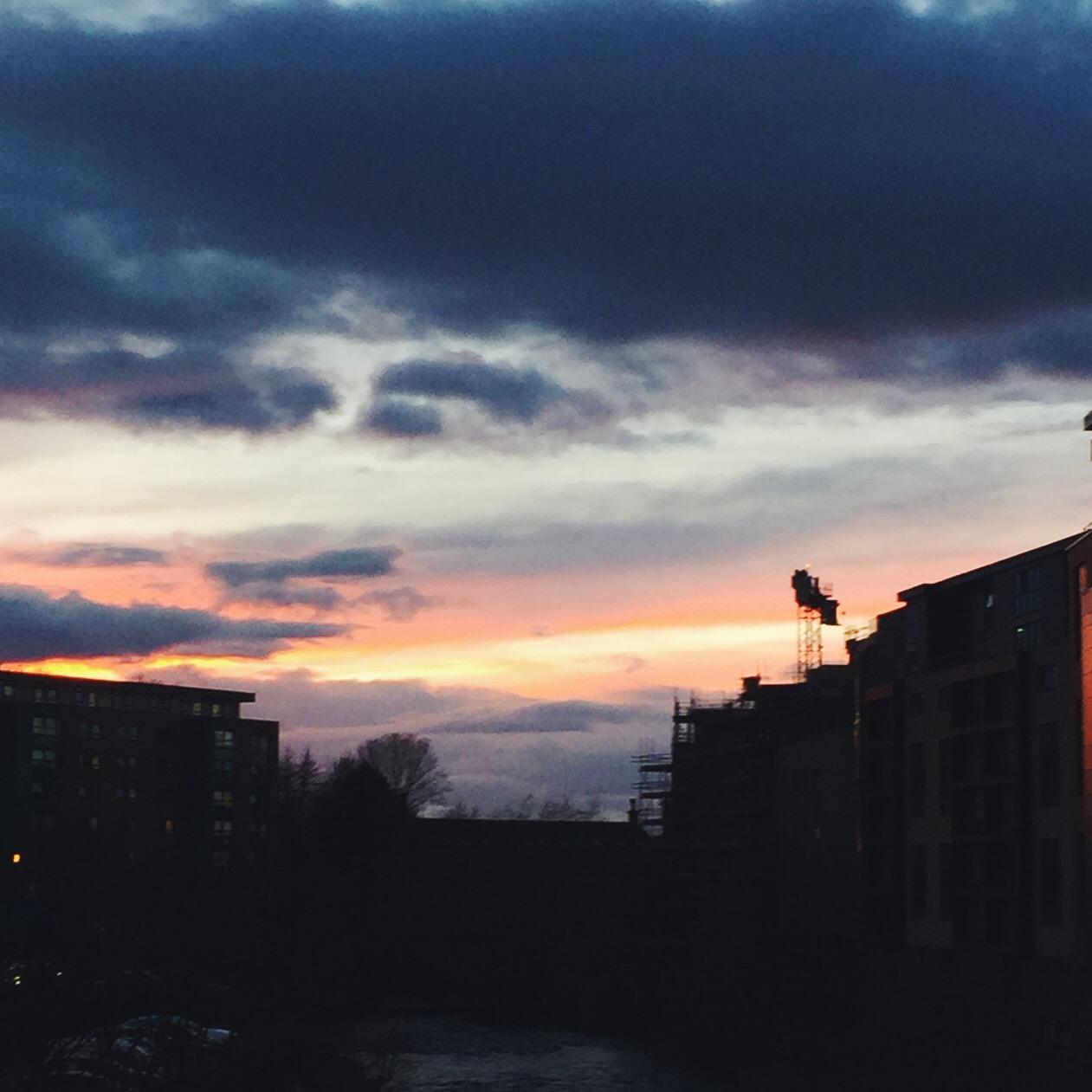 Sunrise Glasgow