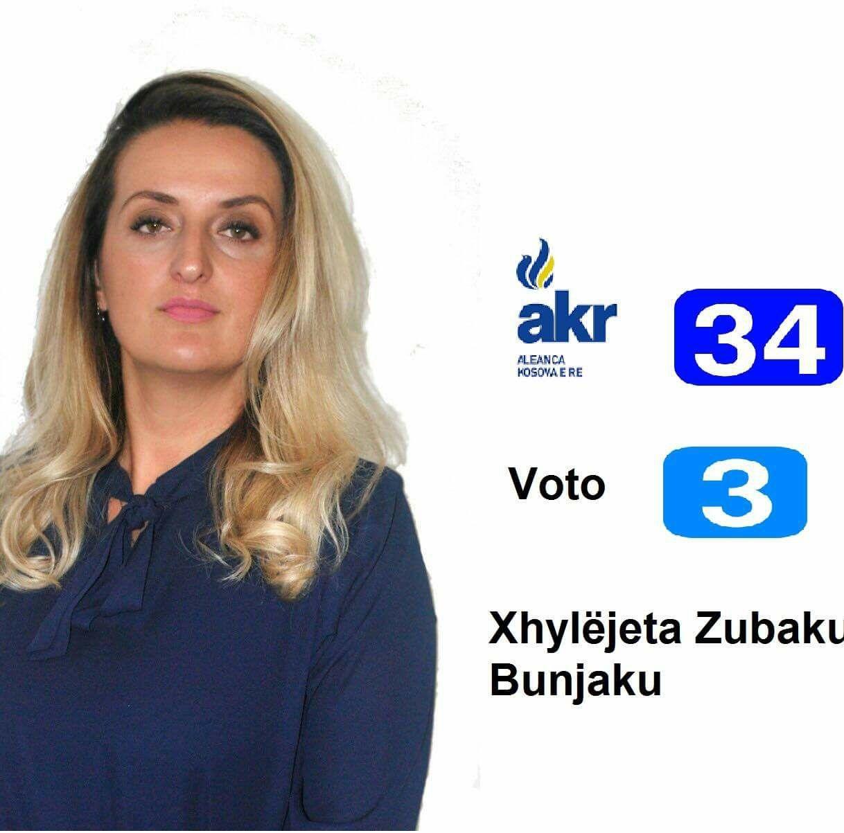 Xhyljëjeta Zubaku