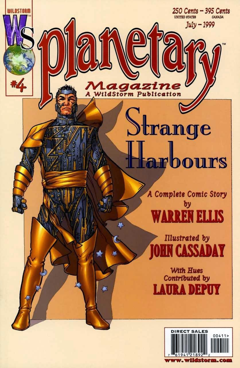 Planetary # 4 - Warren Ellis John Cassaday