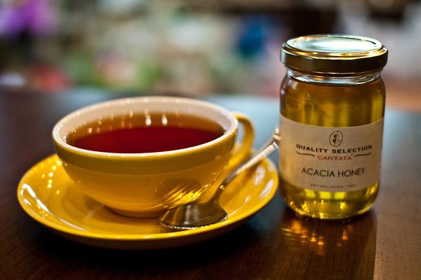 2 чая мед